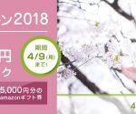 hanaso【春トク キャンペーン2018】